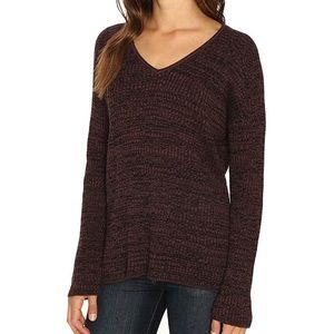 OBEY Women's Walton V-Neck Oversized Sweater